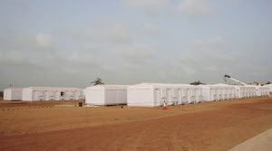 worker camp booths
