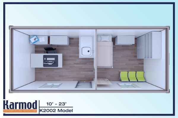 Ground Level Mobile Offices 3d