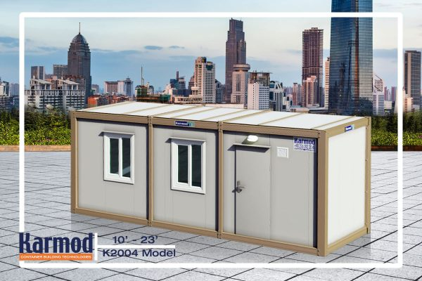 Mobile Mini Ground Level Office