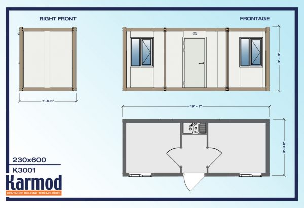 Mobile Office Trailers Construction plan