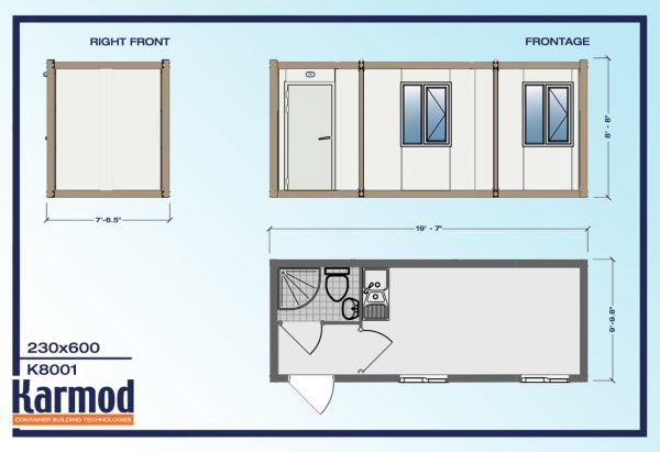 Mobile Office Trailers plan 1