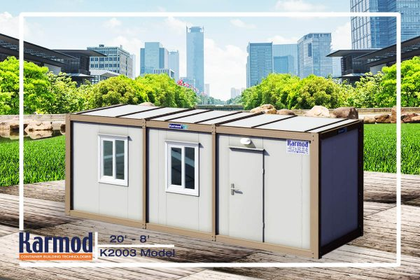 Modern Modular Container Office