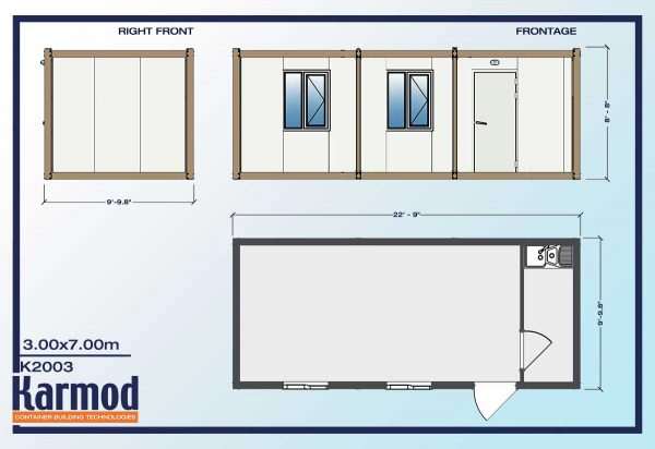 On-site Ground Level Offices plan