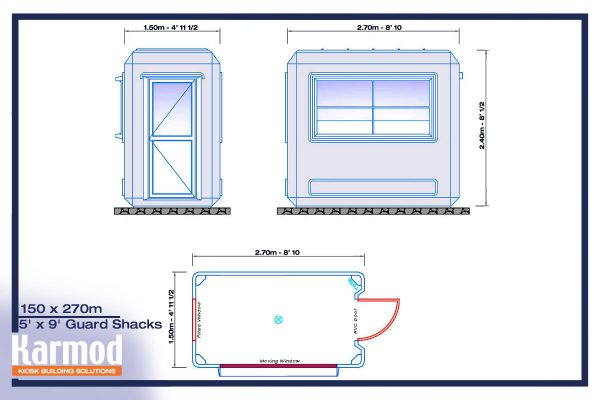 guard booth plan