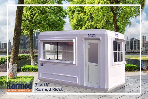 prefabricated security booths