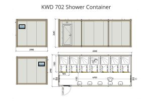 KWD 702 Shower Container 1