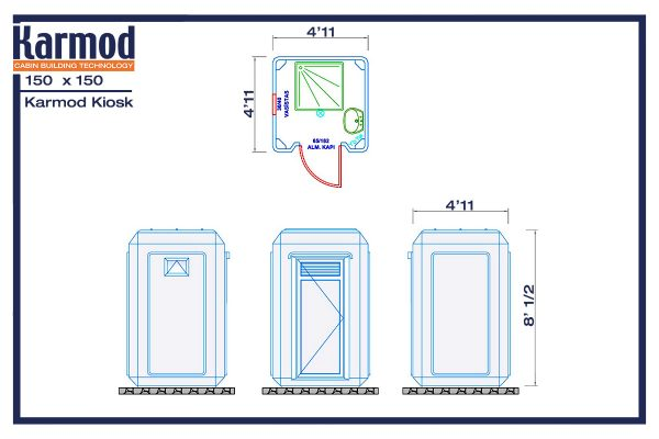 commercial prefab restrooms plan