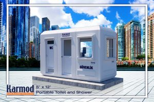 modular restrooms and shower