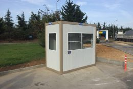 Prefab Security Guard Shack