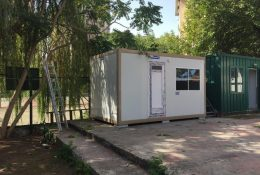 prefabricated guard shacks